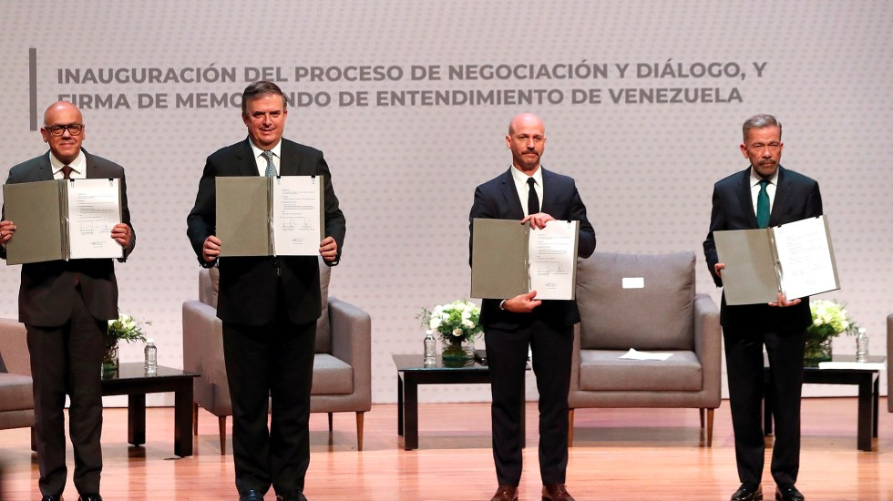 México desea que diálogo de Venezuela resulte en fin de sanciones y acuerdos - Venezuela