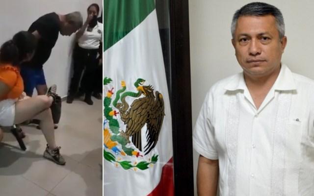 Destituyen a secretario de Seguridad Pública de Baja California Sur - Germán Wong destituido