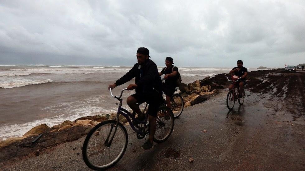 Daños menores en Península de Yucatán tras paso de Grace - Daños menores en Península de Yucatán tras paso de Grace. Foto de EFE