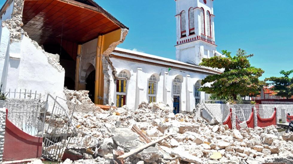 """Biden lamenta """"tragedia"""" del terremoto en Haití y envía condolencias - Haití terremoto sismo"""