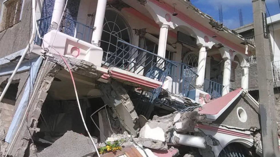 "Primer ministro de Haití califica de ""dramática"" situación tras sismo - Primer ministro de Haití califica de"