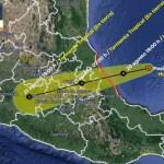 Huracán Grace se fortalece antes de tocar tierra en México