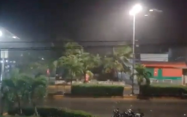 Huracán Grace tocó tierra esta madrugada al sur de Tulum, Quintana Roo - Huracán Grace Tulum QR