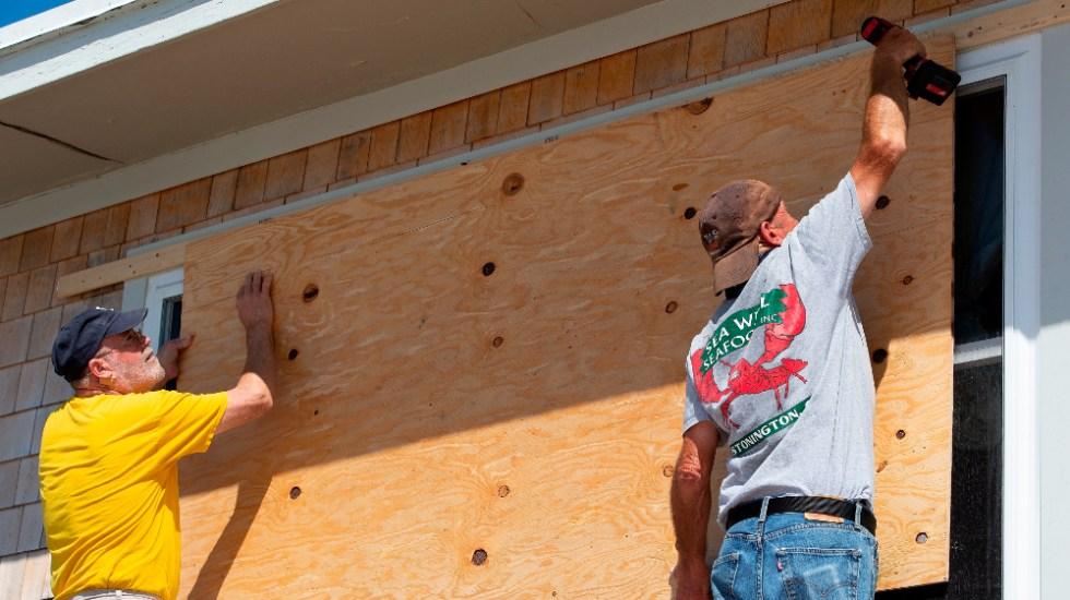 Estados del noreste de EE.UU. se preparan para el impacto de Henri - Huracán Henri Rhode Island
