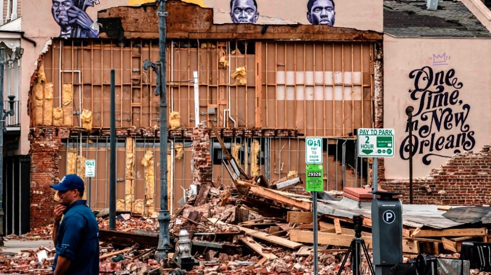 EE.UU. moviliza ayuda tras destrucción, inundaciones y apagones que dejó Ida - huracán Ida Nueva Orleans