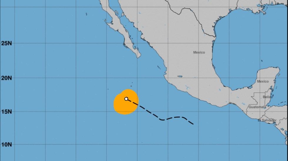Huracán Linda se fortalece a Categoría 2 en el Pacífico mexicano - Huracán Linda. Foto de NHC / Pacific.