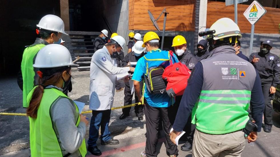 Explosión en Benito Juárez pudo ser por mala instalación de secadora: Protección Civil - Inquilinos pertenencias edificio explosión avenida Coyoacán CDMX