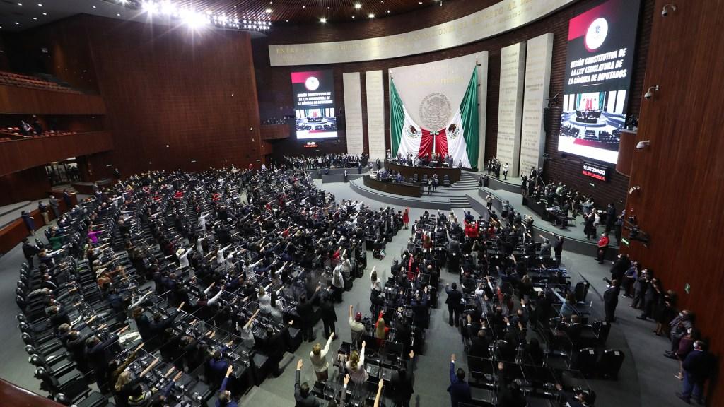 INE acata sentencia del TEPJF y dota de paridad a la Cámara de Diputados - Instalación de la LXV Legislatura de la Cámara de Diputados