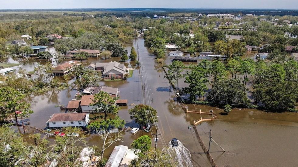 Louisiana revela mayor destrucción y muerte por Ida en medio de apagón - Luisiana revela mayor destrucción y muerte por Ida en apagón. Foto de EFE