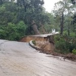 Colapsa Carretera Estatal 428 en Jalisco tras paso de Nora