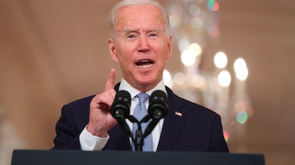 Biden asegura que o salía de Afganistán o aumentaba tropas - Biden asegura que o salía de Afganistán o aumentaba tropas. Foto de EFE