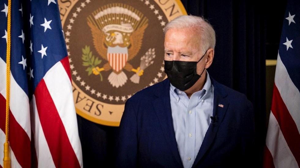 """Biden cree que habrá otro atentado en Kabul """"en las próximas 24 a 36 horas"""" - El presidente de EEUU, Joe Biden. Biden cree que habrá otro ataque en Afganistán en las próximas 24 o 36 horas. Foto de EFE/EPA/Pete Marovich / POOL."""