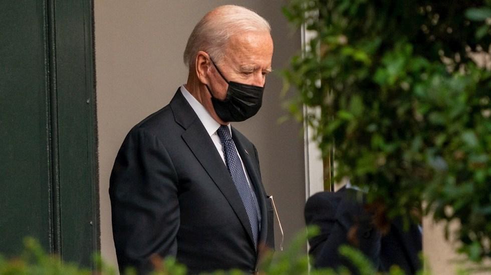 Desaprobación de Joe Biden crece tras toma de Kabul por talibanes - Joe Biden Estados Unidos presidente