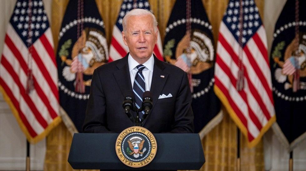 """Evacuación de Kabul, """"de las más difíciles de la historia"""": Biden - Joe Biden, presidente de Estados Unidos. Foto de EFE/ EPA/ Pete Marovich / POOL."""