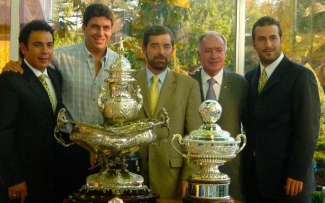 Juan Ramón de la Fuente y su apoyo incondicional a los Pumas de la UNAM - Juan Ramón de la Fuente futbol Elías Ayub Hugo Sánchez y la copa Copa Bernabeu