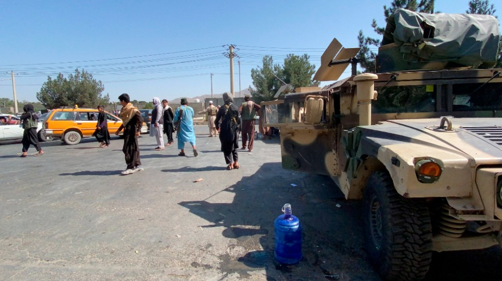 OMS busca alternativas al aeropuerto de Kabul para ayuda médica - Kabul Afganistán evacuaciones ayuda OMS