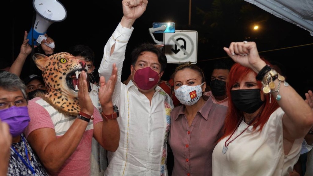 Layda Sansores se declara ganadora en recuento de votos en Campeche - Layda Sansores se declara ganadora en recuento de votos en Campeche. Foto de Twitter Mario Delgado