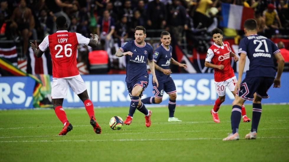 Leo Messi debuta con el París Saint-Germain - Lionel Messi PSG Francia 2