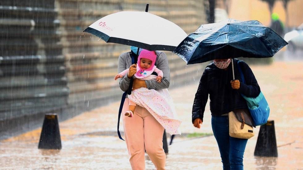 Activan Alerta Amarilla en ocho alcaldías por lluvias - Activan Alerta Amarilla en ocho alcaldías por lluvias. Foto de EFE