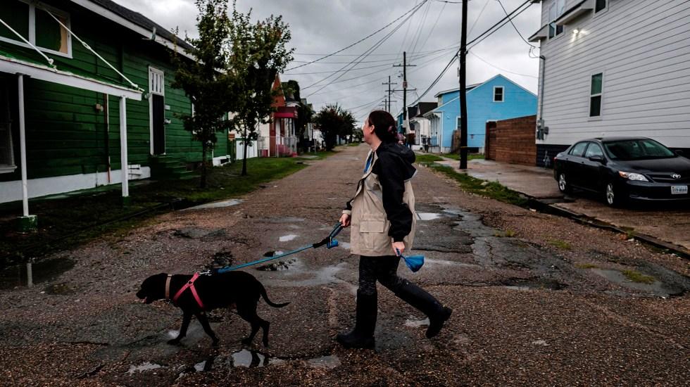 #Video Huracán Ida toca tierra en Louisiana con vientos de 240 km/h - Louisiana previo al embate del huracán Ida. Foto de EFE