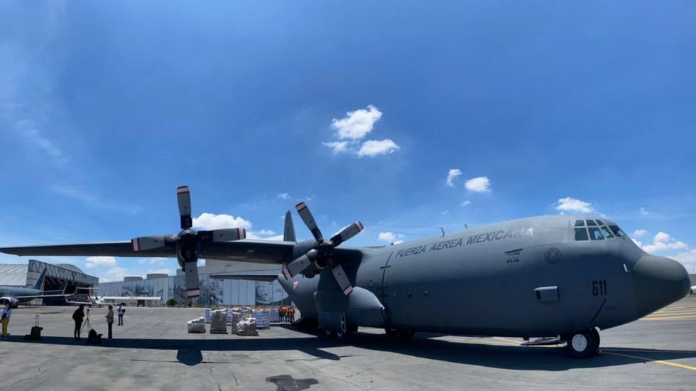 México envía víveres e insumos médicos a Haití tras sismo - México insumos víveres a Haití sismo