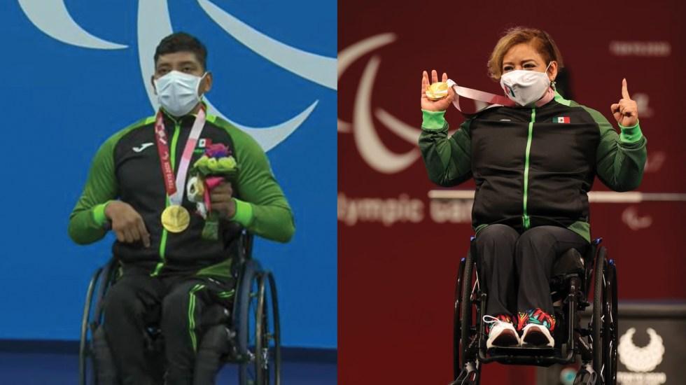 Amalia Pérez y Jesús Hernández obtienen medallas de oro en Tokio - Amalia Pérez y Jesús Hernández obtienen medallas de oro en Tokio. Fotos de Conade