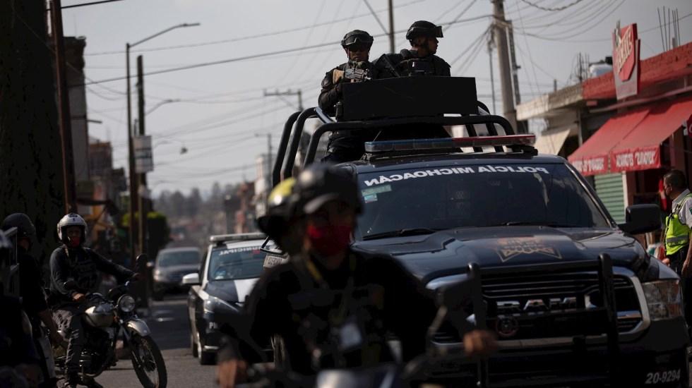 Enfrentamiento en Michoacán deja seis presuntos sicarios y un militar muertos - Michoacán Morelia Policía Seguridad