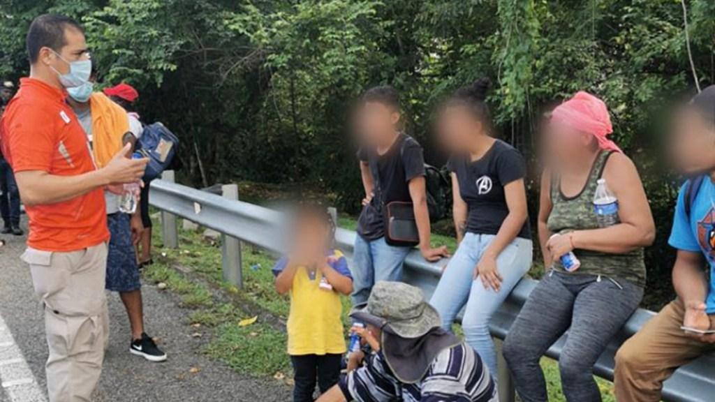 Parte desde Chiapas segunda caravana de migrantes rumbo a EE.UU. - Migrantes de segunda caravana que partió desde Tapachula