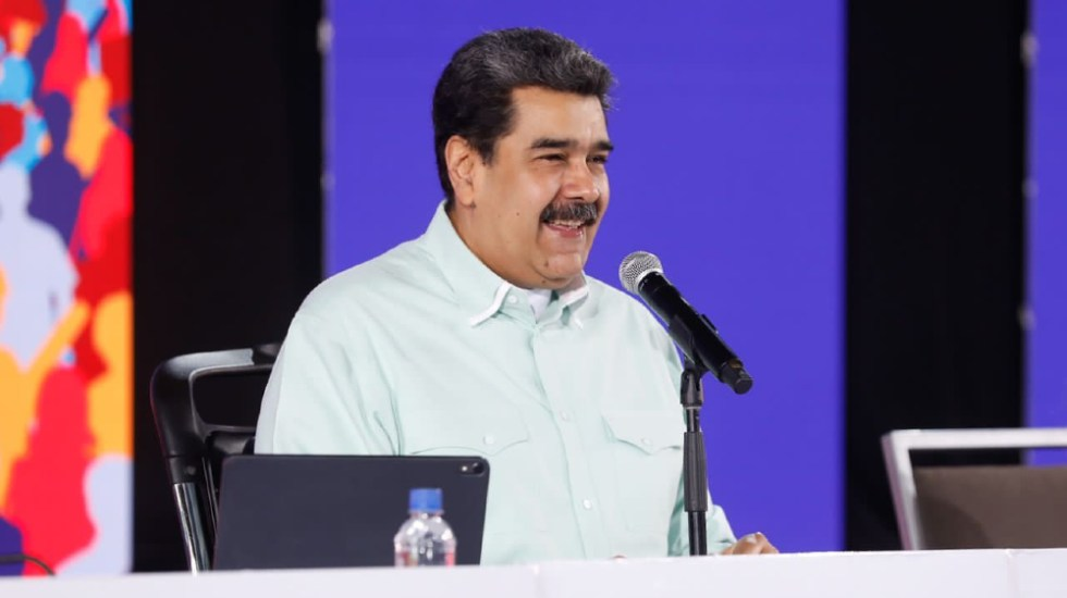 Maduro celebra como un logro el comienzo de negociaciones con Guaidó - Nicolás Maduro
