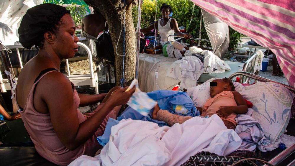 Unicef estima que terremoto en Haití afectó a más de 500 mil menores - Niños terremoto Haiti
