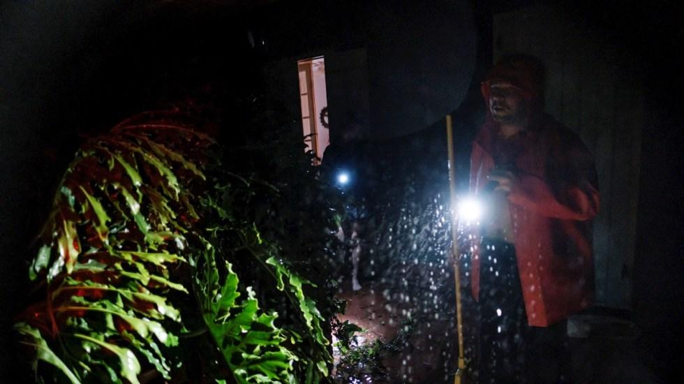 El huracán Ida deja completamente a oscuras a Nueva Orleans - Nueva Orleans Ida Estados Unidos apagón