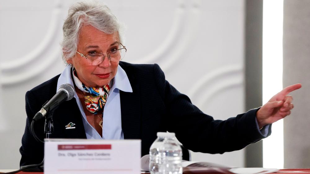 Aprueban senadores de Morena que Sánchez Cordero presida Mesa Directiva - Olga Sánchez Cordero