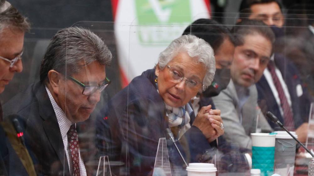 Advierte Sánchez Cordero que no pueden permitir cambios a pregunta de Revocación de Mandato - Olga Sánchez Cordero