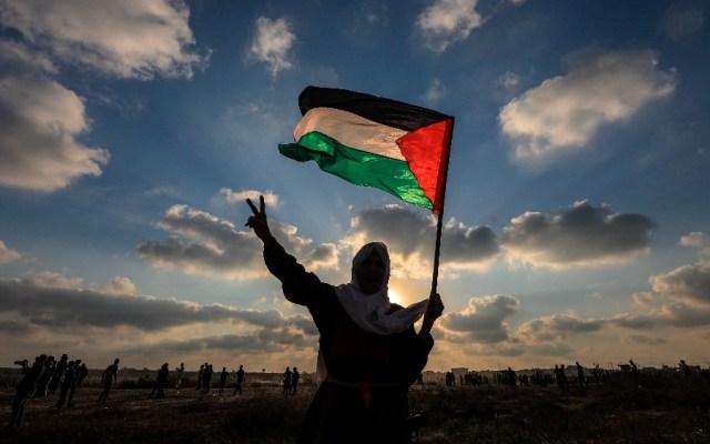 Heridos 41 palestinos y un policía israelí en protestas fronterizas en Gaza - palestinos Palestina protestas Franja de Gaza