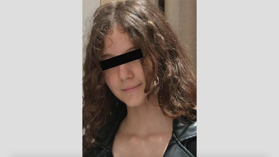 Fiscalía de CDMX localiza a la joven Pia Sofia, de 12 años - Pia Sofía N desaparecida