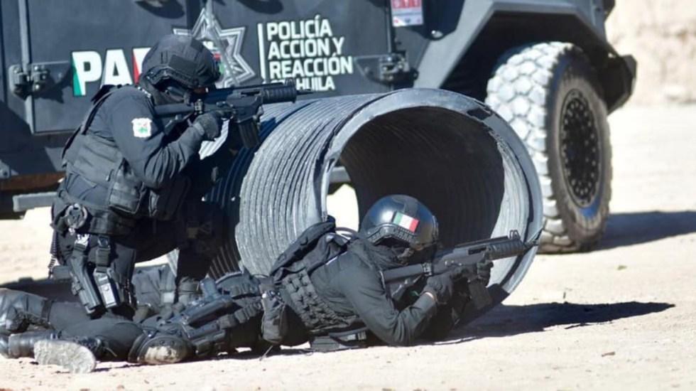 Policías abatieron a tres sujetos armados durante enfrentamiento en Hidalgo, Coahuila - Policía Estatal Coahuila Secretaría de Seguridad pública