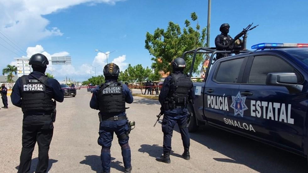Agresión a policías deja al menos un muerto y un herido en Elota, Sinaloa - Agresión a policías deja al menos un muerto y un herido en Elota, Sinaloa. Foto de @Mtro_CCastaneda