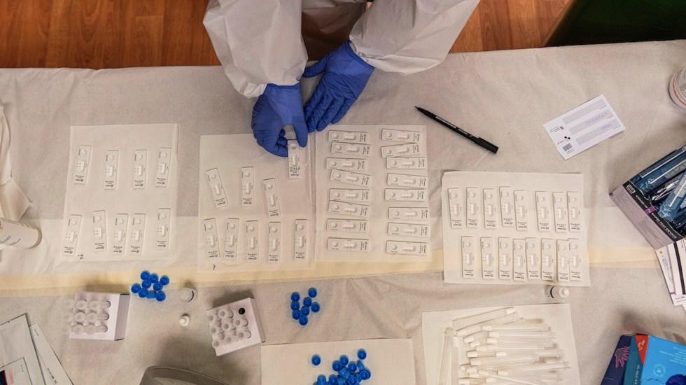 Italia hará pruebas gratuitas a profesores sin certificado sanitario - Italia hará pruebas gratuitas a profesores sin certificado sanitario. Foto de EFE