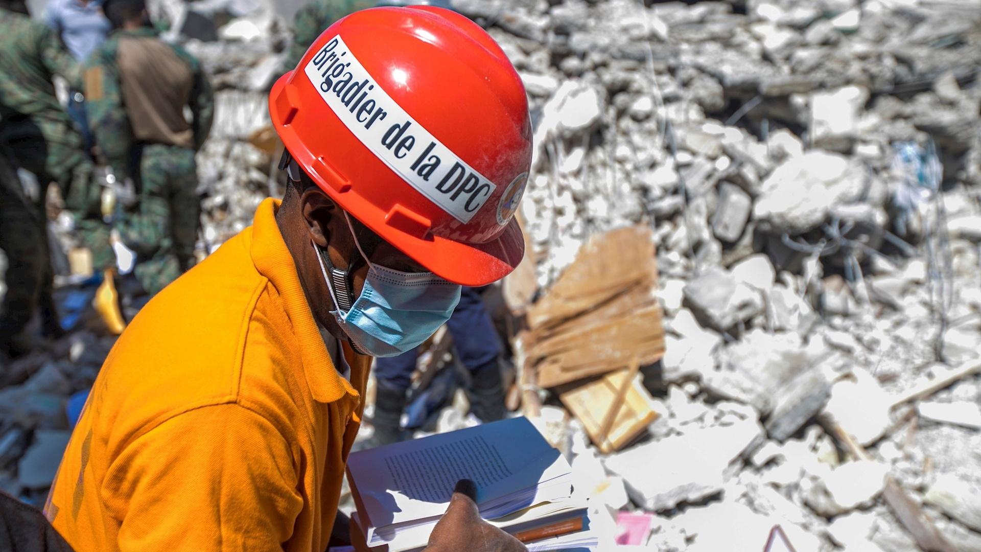 Rescate Haití sismo muertos temblor