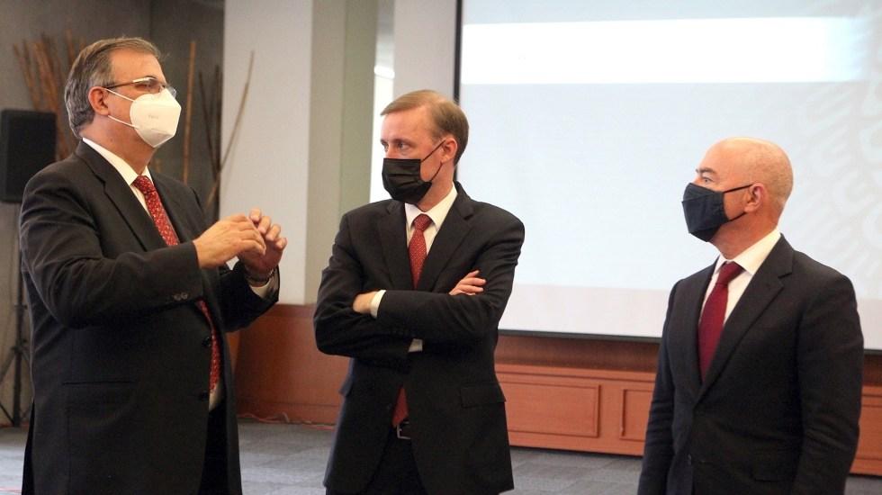 México y EE.UU. abordan temas de migración, seguridad y desarrollo económico - Foto de SRE.