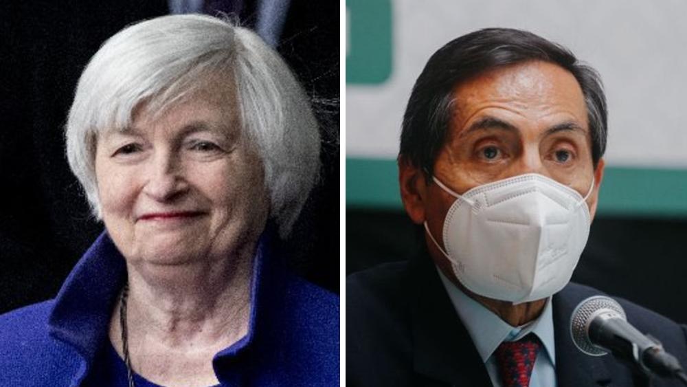 Secretaria del Tesoro de EE.UU. conversa con Rogelio Ramírez de la O - Rogelio Ramírez de la O Janet Yellen