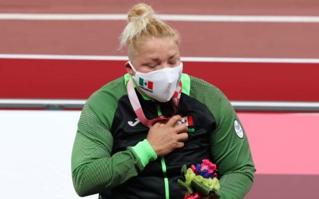 Rosa Guerrero obtuvo bronce para México en Paralímpicos de Tokio 2020 - Rosa María Guerrero bronce Tokio 2020