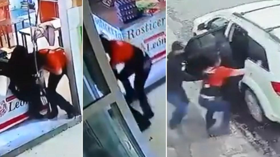 Secuestran a empleada de rosticería en Apaseo el Grande, Guanajuato - Secuestro Apaseo el Grande rosticería