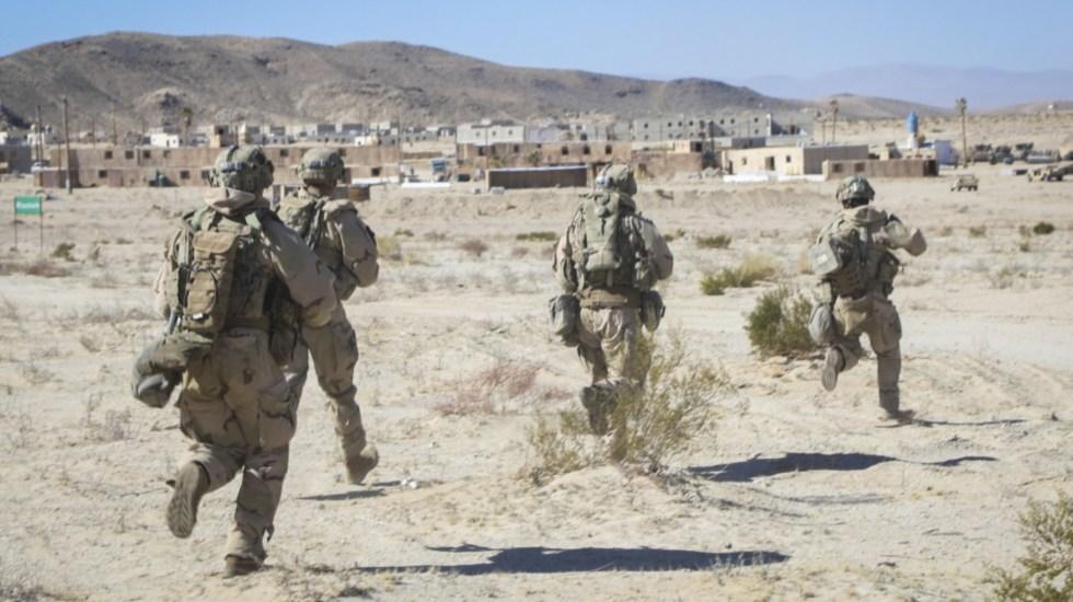 Concluyó Iniciativa Mérida, confirma Ebrard - Soldados Estados Unidos militares