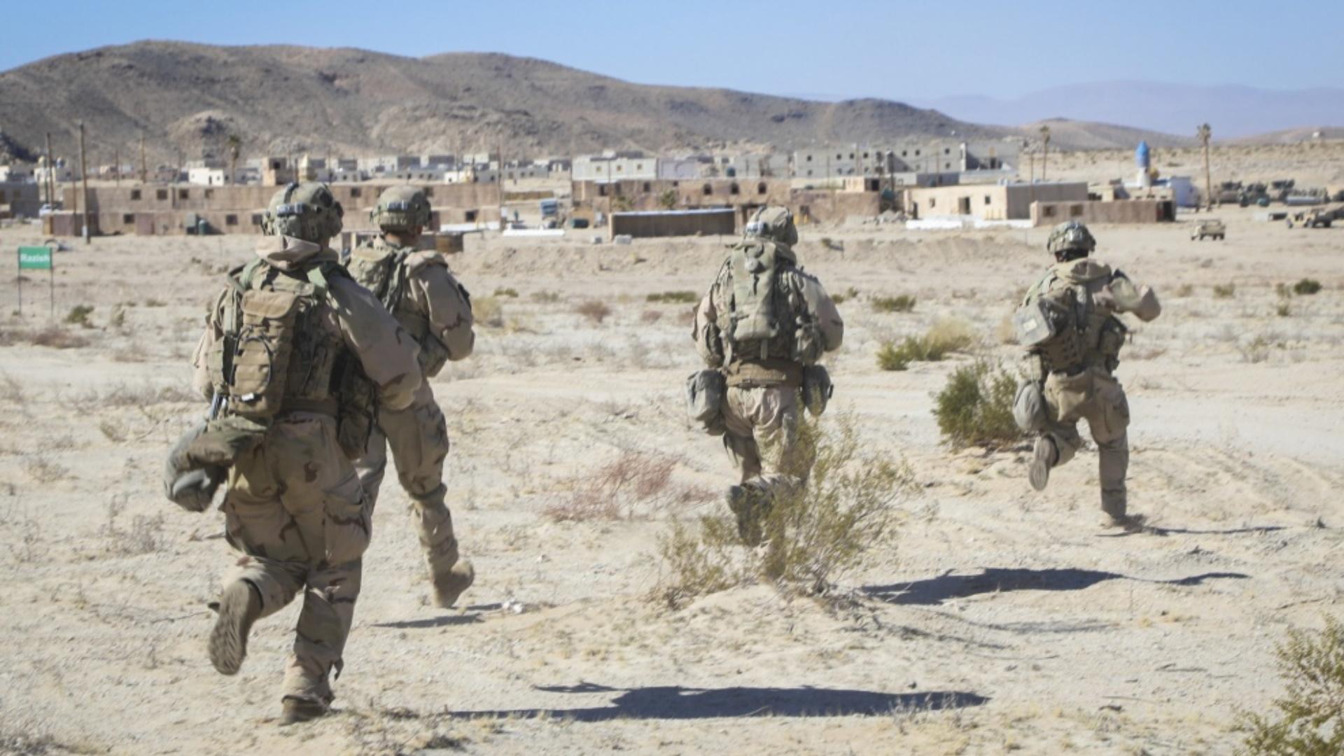 Soldados Estados Unidos militares