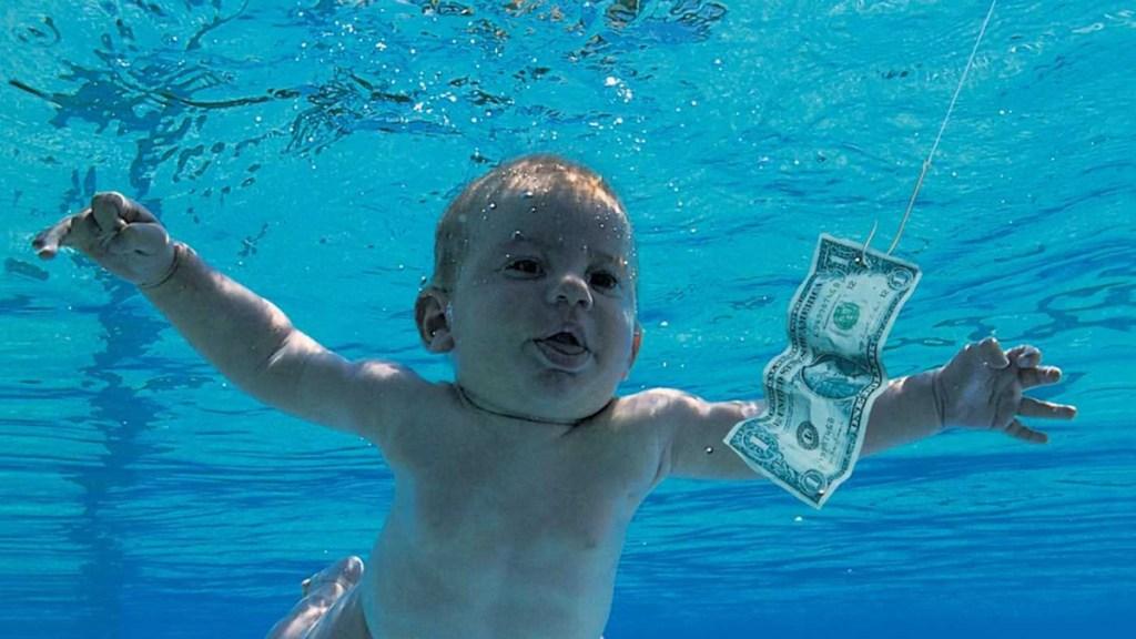"Bebé de ""Nevermind"" demanda a Nirvana por pornografía infantil - Spencer Elden en portada de Nevermind"