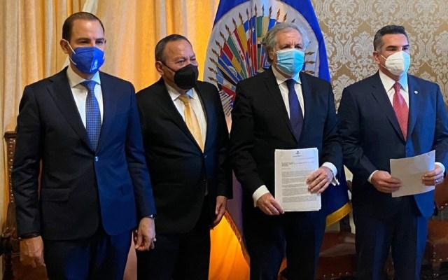 Va por México denuncia ante OEA intervención del crimen organizado en elecciones - Va por México OEA Luis Almagro