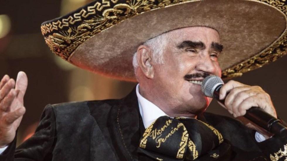 Vicente Fernández se mantiene grave pero estable - Vicente Fernández