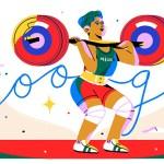 Google rinde homenaje a la medallista Soraya Jiménez en el doodle
