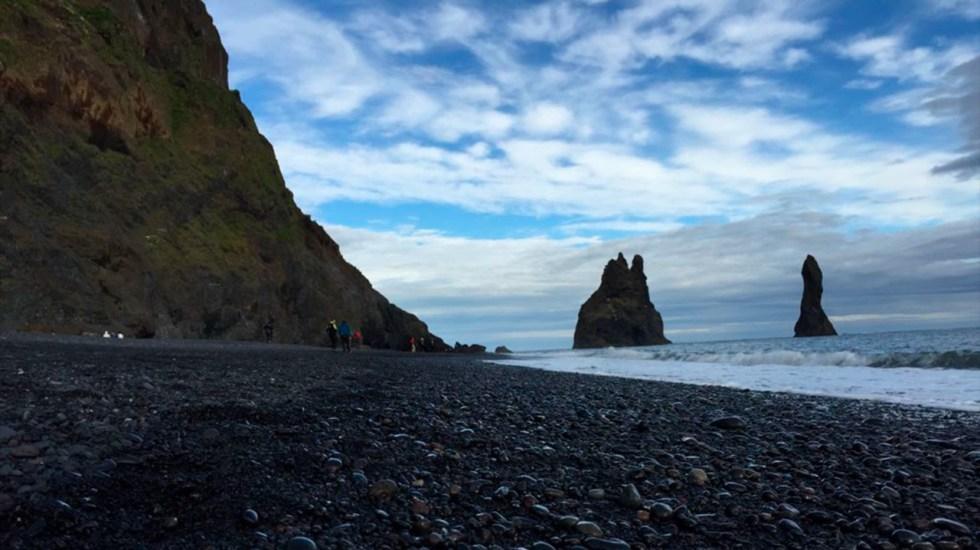 Las extrañas playas volcánicas en Islandia, por Ivonne Frid - Playas volcánicas de Islandia